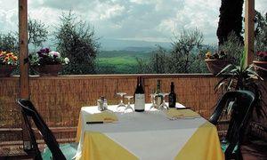 Groupon - Antico Borgo - Menu con piatti tipici e vino a Montaione (sconto fino a 70%) a Montaione (FI). Prezzo Groupon: €24,90