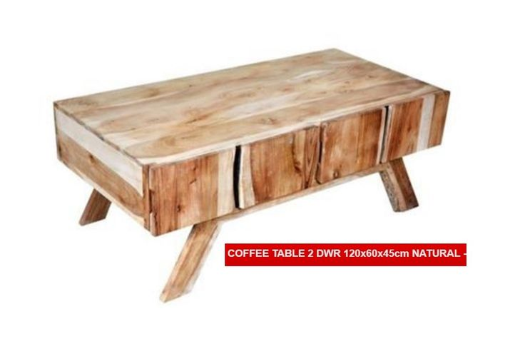 Woodland 2 Drawer Coffee Table