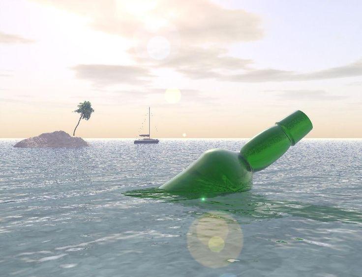 Vue 5 Infinite - Bottle in the sea