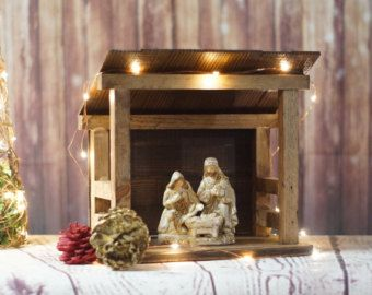 1000 Ideas About Nativity Stable On Pinterest