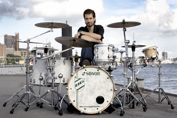 Benny Greb with set !