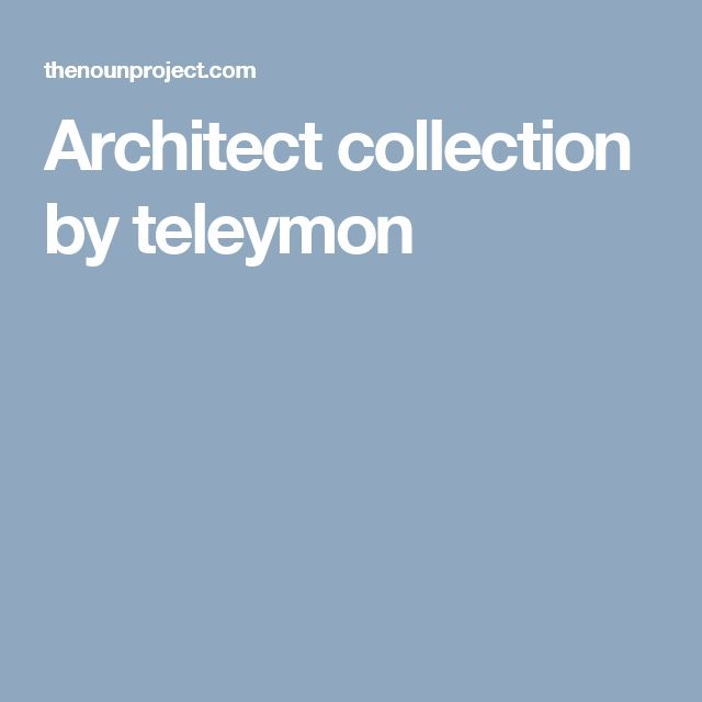 Architect icon collection by teleymon. Free! #LineIcons #VectorIcons #architectIcon