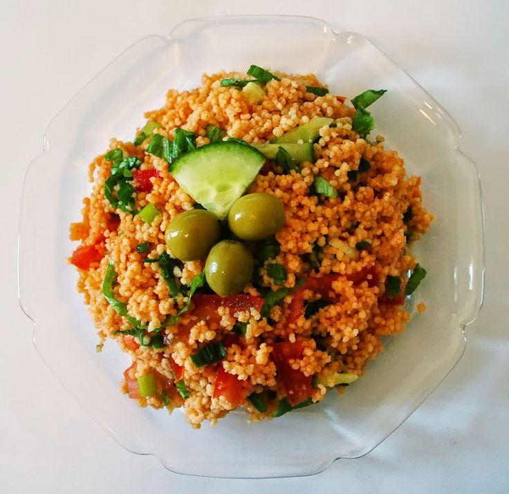 Street Food, Cuisine du Monde: Recette de salade de boulgour et lentilles rouges, vegan, kisir (Turquie)