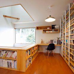 2Fのホールの一角を書斎にしても。