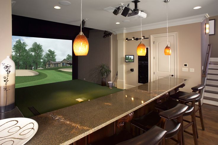 1000 ideas about golf man cave on pinterest man cave for 3d room simulator
