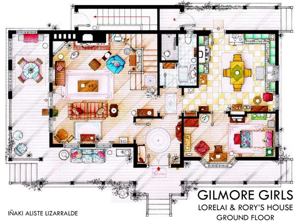 17 Best Ideas About Gilmore Girls House On Pinterest