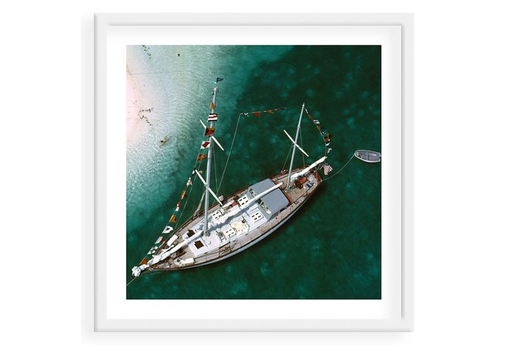 Slim Aarons, Charter Ketch Circa 1960 | Find the Perfect Piece | One Kings Lane