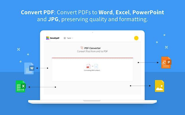 Smallpdf Edit Compress And Convert Pdf Google Workspace Marketplace Pdf To Text Converter Pdf