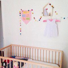 Cute wall sticker. Dream Big little one.