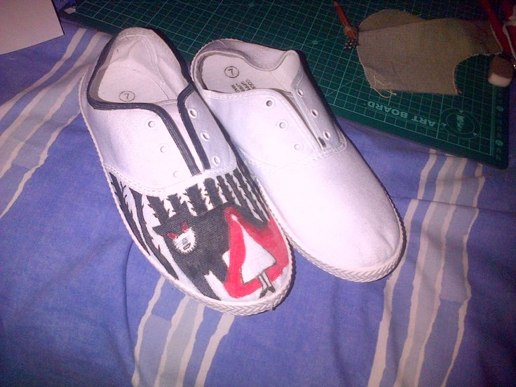 my shoe design and packaging