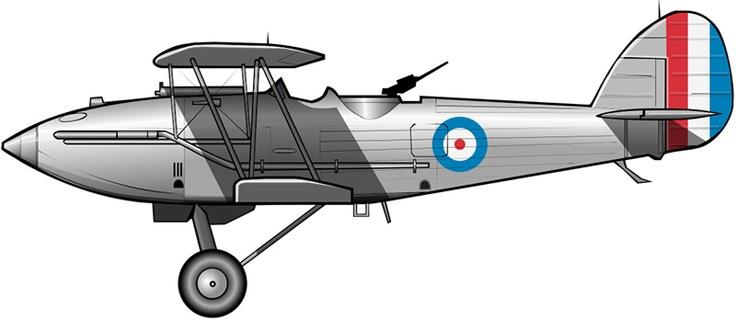 Hawker Hardy en Iraq (1936)