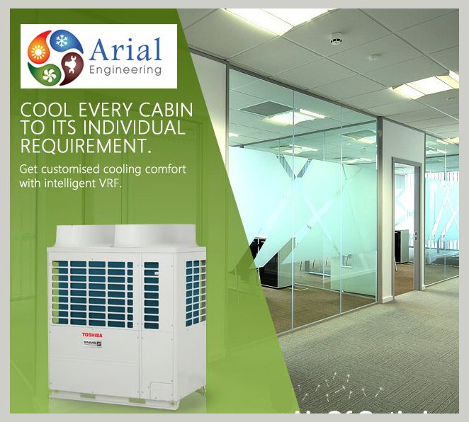 Toshiba Vrf Intelligent Cooling System Hvac Hvac Air