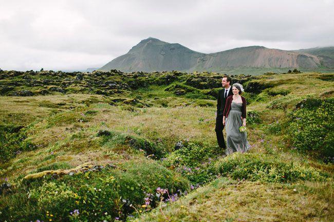 Idyllic Iceland Wedding: Brandy + Justin