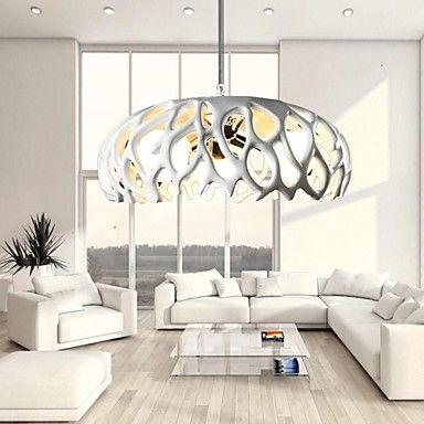Pendant Light Three Lights Resin and Glass – GBP £ 141.41