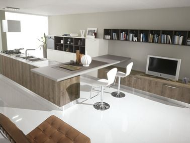 The KITCHENS of this Spar line, fashionable, exclusive and stylish, also offer a range of compositions for the living area. http://www.spar.it/sp/en/arredamento/proposta-04.3sp?cts=cucine_moderne_miami?utm_source=pinterest.com&utm_medium=post&utm_content=cucine-moderne-miami-04.3&utm_campaign=post-cucine-moderne
