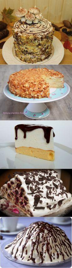 Новогодние (рождественские) десерты и торты | Ева.Ру | Рецепты