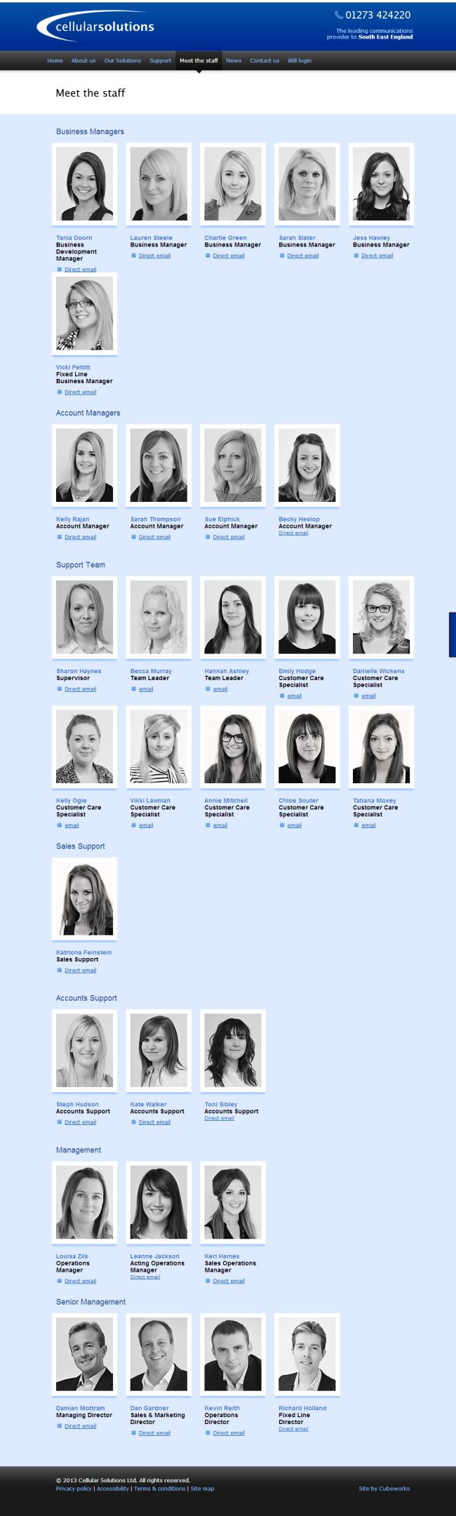 Meet the staff - Bell'ufficio!