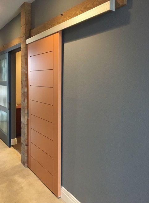 Ceiling Flush Pocket Door Hardware Kit In 2020 Sliding Door