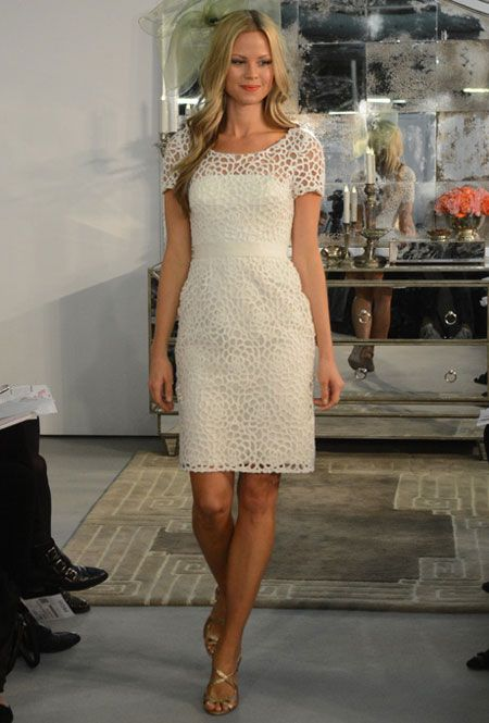 watters encore cutout lace wedding dress fall 2013