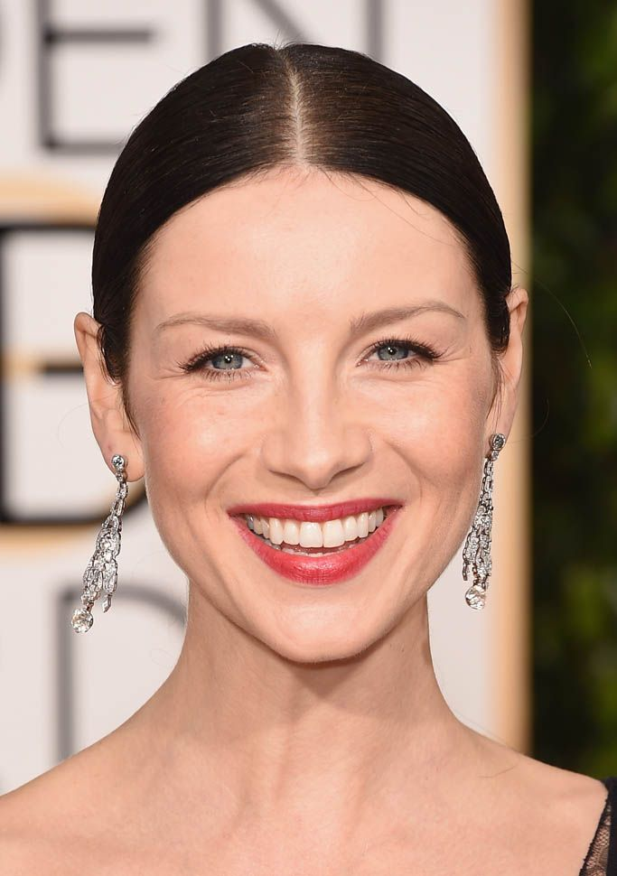 Caitriona Balfe and Sam Heughan at the 2016 Golden Globes|Lainey Gossip Entertainment Update
