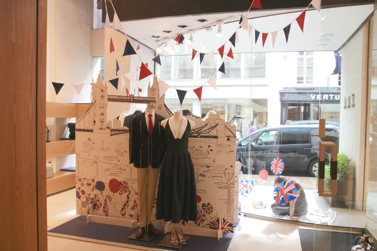 DAKS London Jubilee Window