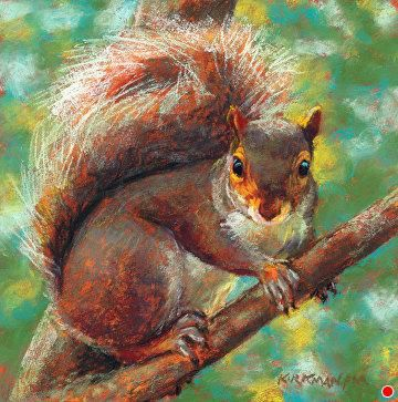 Nuttin' Honey by Rita Kirkman Pastel ~ 8 x 8 inches