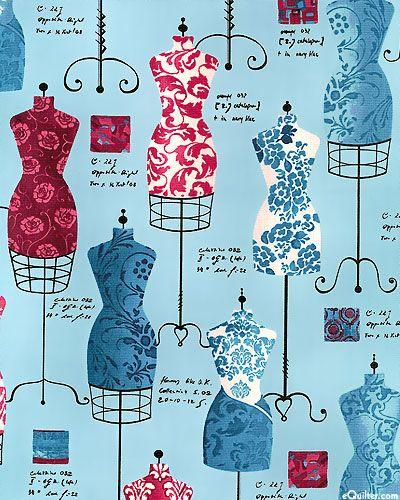 Dress Up 2 - Designer Notes - Powder Blue