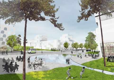 Urban Plan for Furuset | OpenBuildings