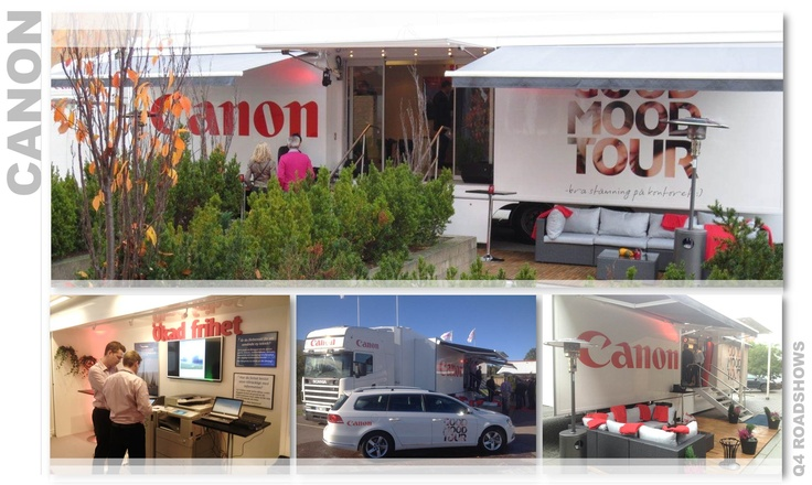 "Canon went on a ""Good Mood Tour"" to inform how their printing solutions contribute to a happier work environment. The tour attracted many visitors and generated new sales opportunities."
