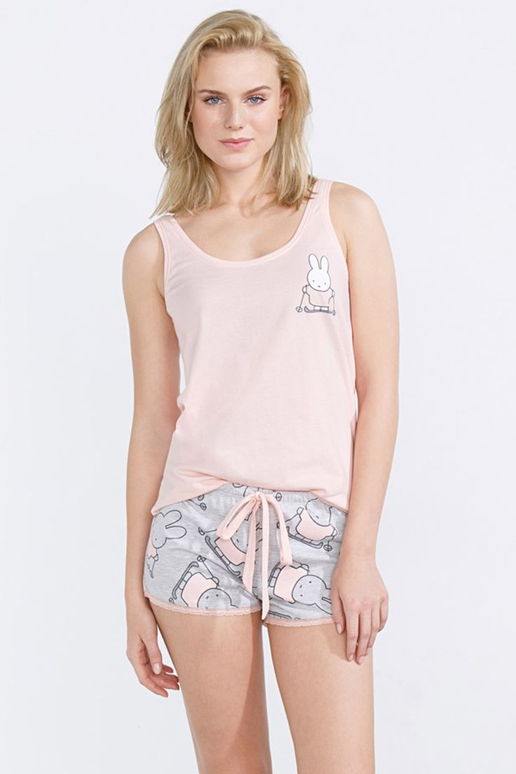 women'secret | compra por precio | ÚLTIMAS TALLAS! | Pijama corto de Miffy