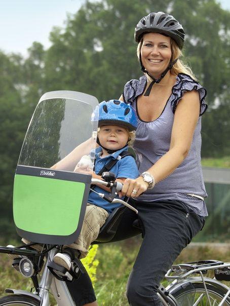 Fotelik na rower z osłoną - Bobike Mini Exclusive