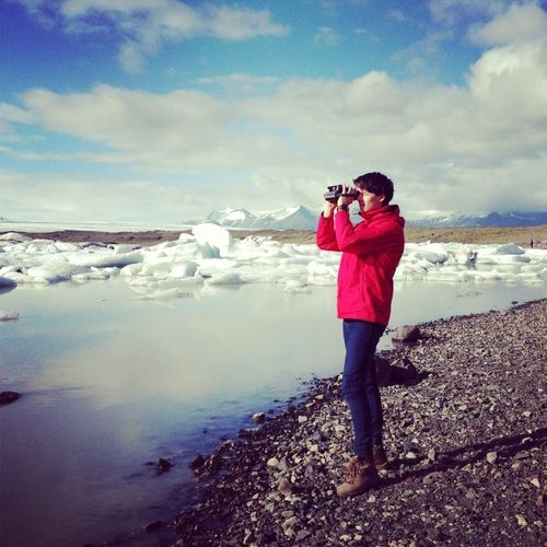 Photographing glaciers in Iceland! — We Are Starting A New Project!