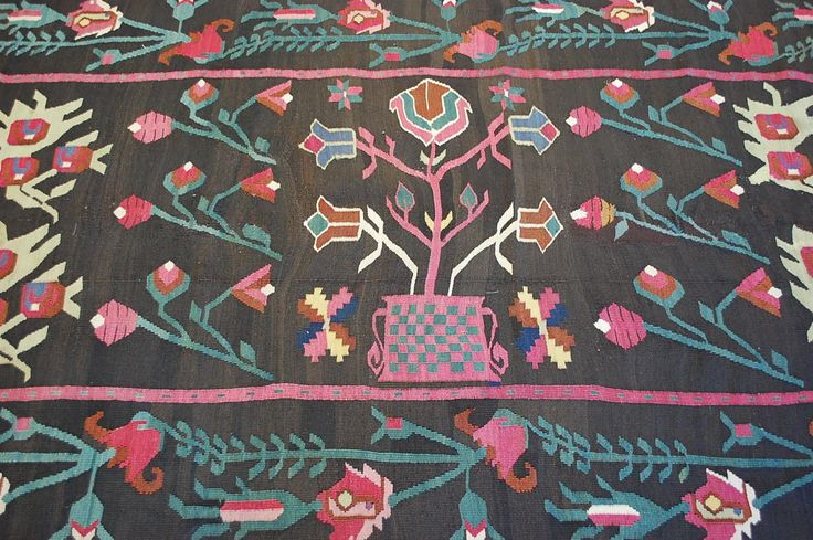C1900s Antique Detailed Bessarabian Kilim Rug 4 7x12 10 One of A Kind Exclusive   eBay