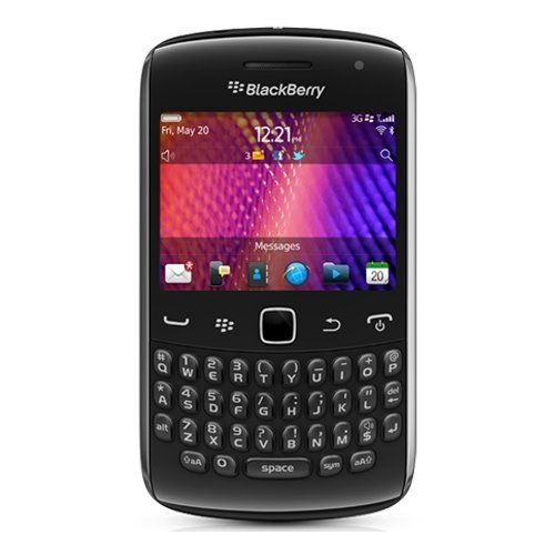 Blackberry Curve 9360 Unlocked Quad-Band 3G GSM Phone with 5MP Camera, QWERTY…