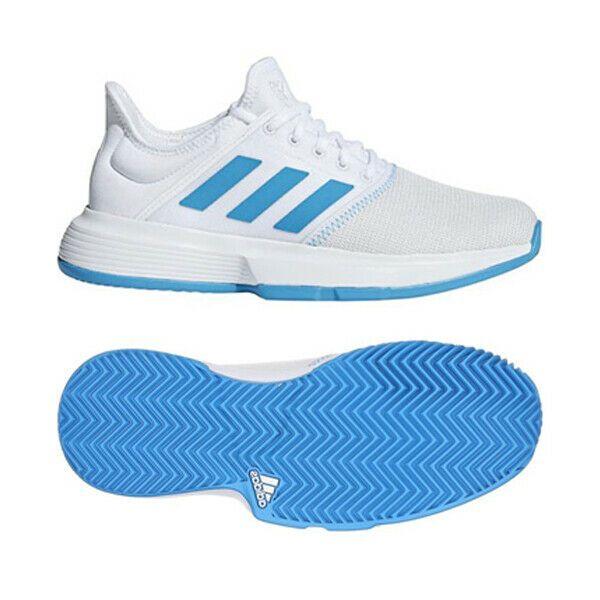 Buying Guide Adidas Men S Gamecourt Tennis Shoe White Matte Silver Black