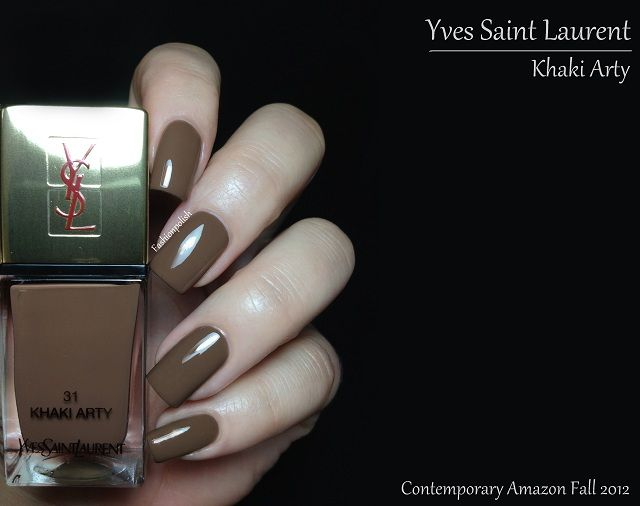 Yves Saint Laurent Khaki Arty