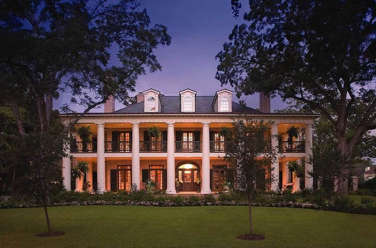 Your Very Own Southern Plantation Home - 42156DB | Architectural Designs - House Plans
