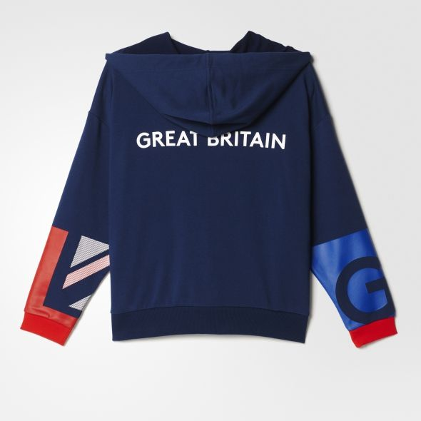 buy adidas online | Volleyball | Clothing | Mens | Team GB Village Wear Hoodie