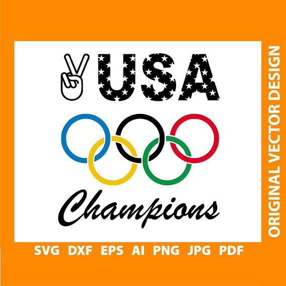 OLYMPIC GAMES 2018 svg vector cut files print files