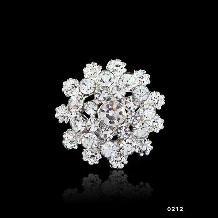 2016 Encantador Patrón Joyería Nupcial Ramo de Flores Broche de diamantes de Imitación Con Incrustaciones de Cristal de Las Mujeres Broches de la Boda de 14 tipos