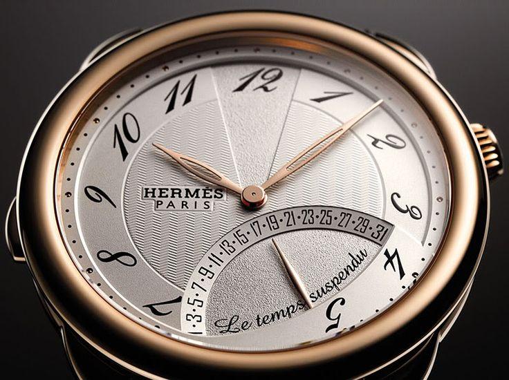 Hermes Arceau Temps Suspendu - Monochrome Watches