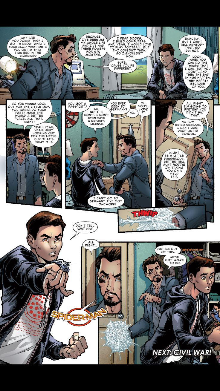 Spider-Man: Homecoming Prelude #1