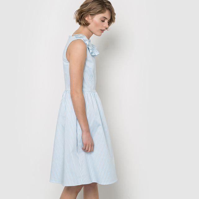 Sukienka w paski bęz rękawów Mademoiselle R | La Redoute
