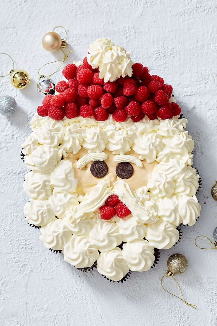 Bring Santa to life in your own kitchen! This no-bake dessert will turn heads at any Christmas feast.