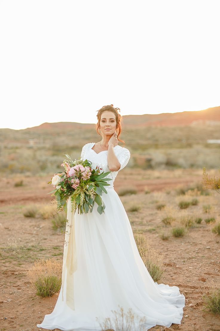 Abigail gown by elizabeth cooper design alyssa ence for Modest wedding dresses seattle