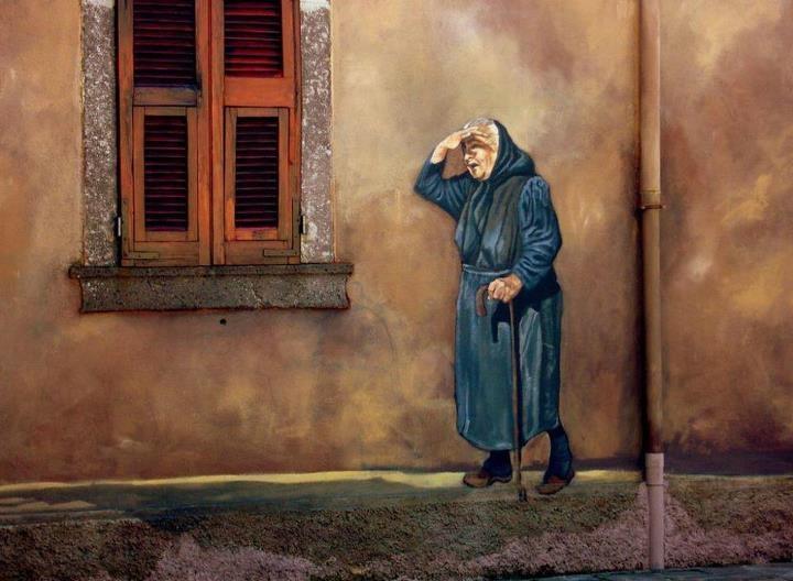Murales di Orgosolo - Sardegna