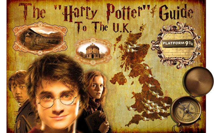 """The """"Harry Potter"""" Guide To The U.K"""