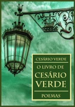 """Capa do livro """"O Livro de Cesário Verde"""" de Cesário Verde."""