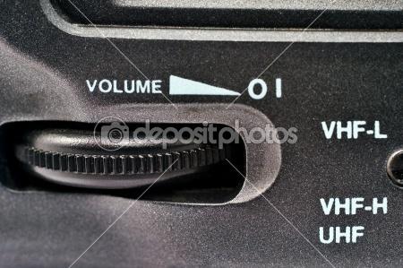 Volume control wheel | Stock Photo © silvia63 #2199054