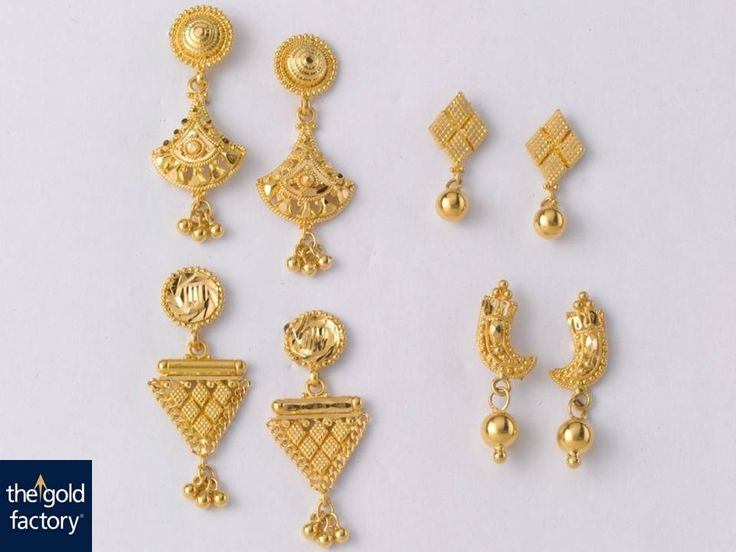 Beautiful Earrings for all occasions:  (Clock wise weight and price details)…